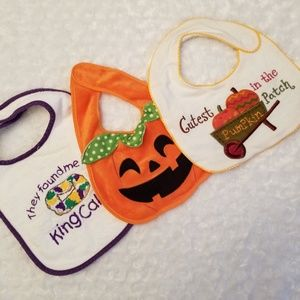 Other - Holiday bibs! 💜💛🎃🦃